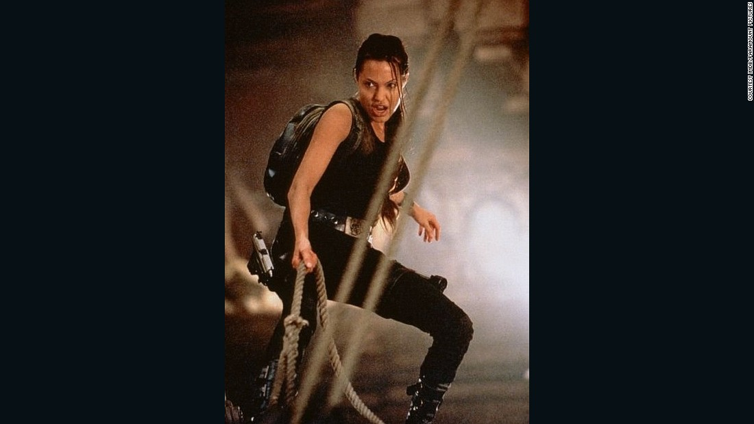 Before she was one-half of Mr and Mrs Smith, Angelina Jolie was already kicking butt as video game hero Lara Croft, in the 2001 and 2003 films.