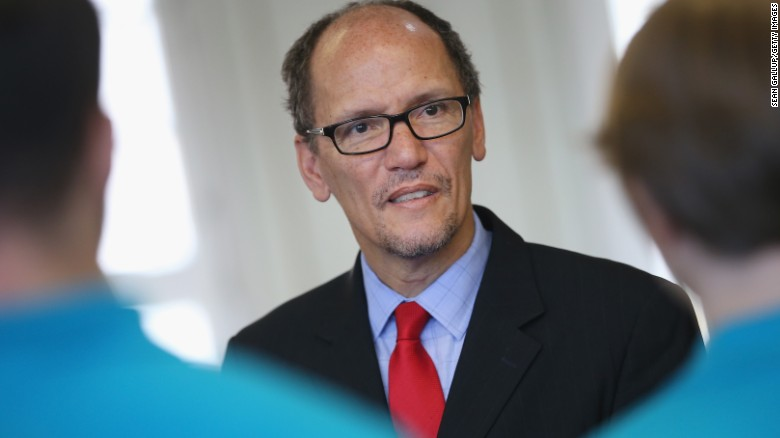 Labor Secretary Perez dodges Clinton ticket chatter