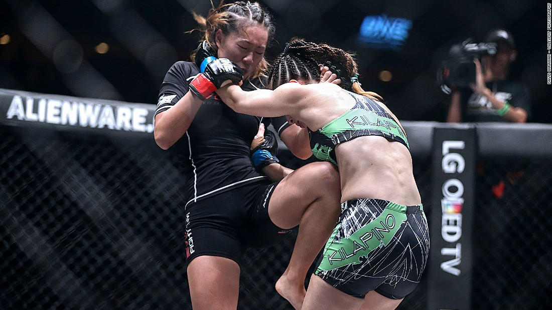 Lee won her last fight against Natalie Gonzales Hills at the Pride of Lions event in just two minutes and 24 seconds. She finished her opponent off with the much vaunted twister move.