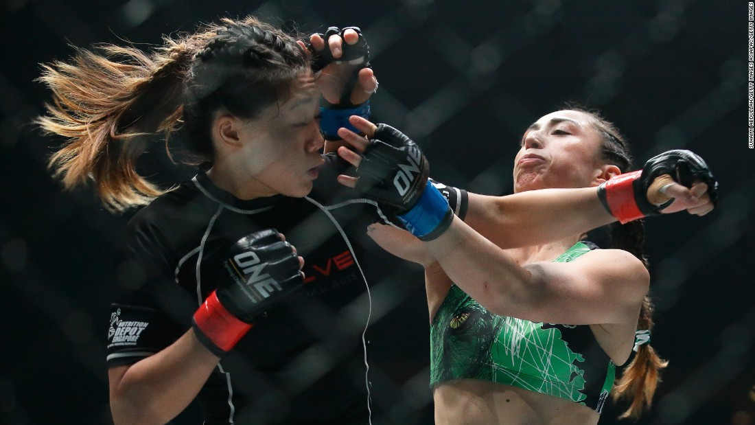 Lee lives for fight night -- and the event in Manila will be no different. She'll have  20,000 fans watching her and she cannot wait.