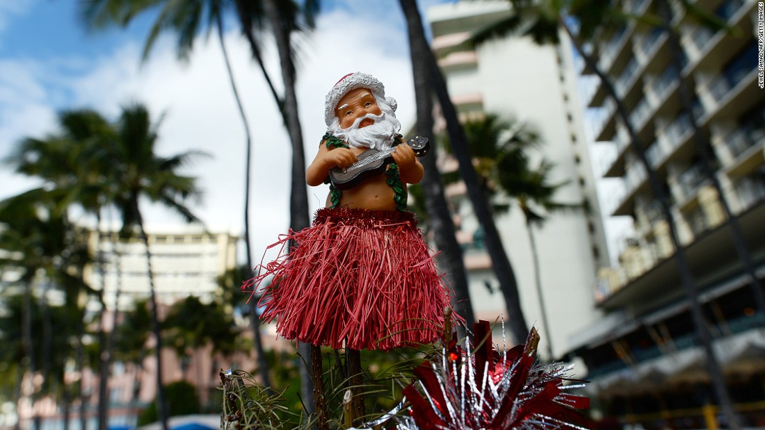 """Mele Kalikimaka"" is the Hawaiian Christmas greeting made famous by Bing Crosby's hit song of 1950. What the Aloha State lacks in snow it more than makes up for with festive vibes of peace and goodwill."