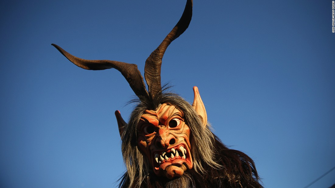 "Across Austria and Bavaria, in December people dress up as terrifying Alpine beasts known as krampuses and rampage through the streets in search of naughty children in need of punishment. The last <a href=""http://www.salzburg.info/en/art_culture/advent_new_years_eve/krampus_percht"" target=""_blank"">Krampus Run</a> in Salzburg this year is on the winter solstice, December 21."