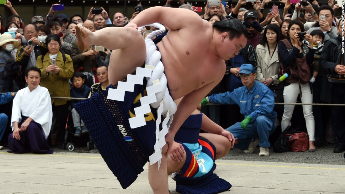 "In recent years there has been considerable hand-wringing about the state of the sport, with a paucity of Japanese wrestlers making the top grade. <br />Recently, a ""yokozuna,"" or grand champion, a Mongolian who wrestled under the nom de guerre of Asashoryu, turned many fans off with his snarling, aggressive displays, often rank with gamesmanship and, traditionalists thought, disrespectful of the sport. More recently, however, his countryman, a stellar yokozuna by the name of Hakuho (pictured), who earlier in 2015 broke the all-time tournament win record, clinching his 33rd trophy in the January honbasho, has been an exemplar of the solemnity and ceremony of this form-filled martial art, and has brought fans back into the fold."