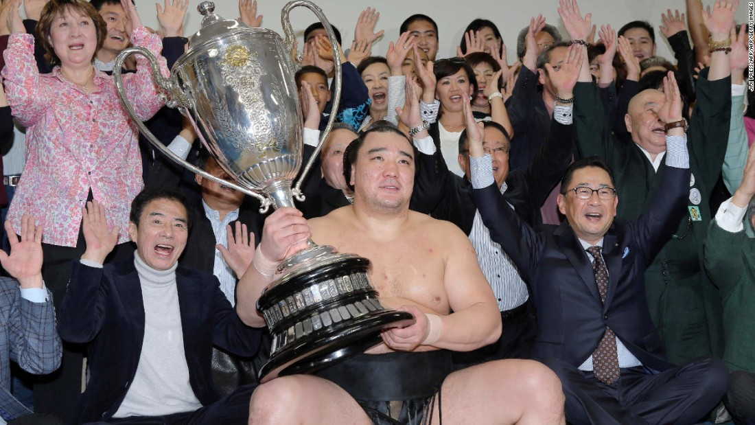 "Each year sees six grand tournaments, or ""honbasho,"" that last for 15 days each, and the top-ranked wrestlers will contest one bout each day.<br /><br />The final tournament of the year, in the city of Fukuoka on the southern island of Kyushu, is one of the biggest annual events in the region."