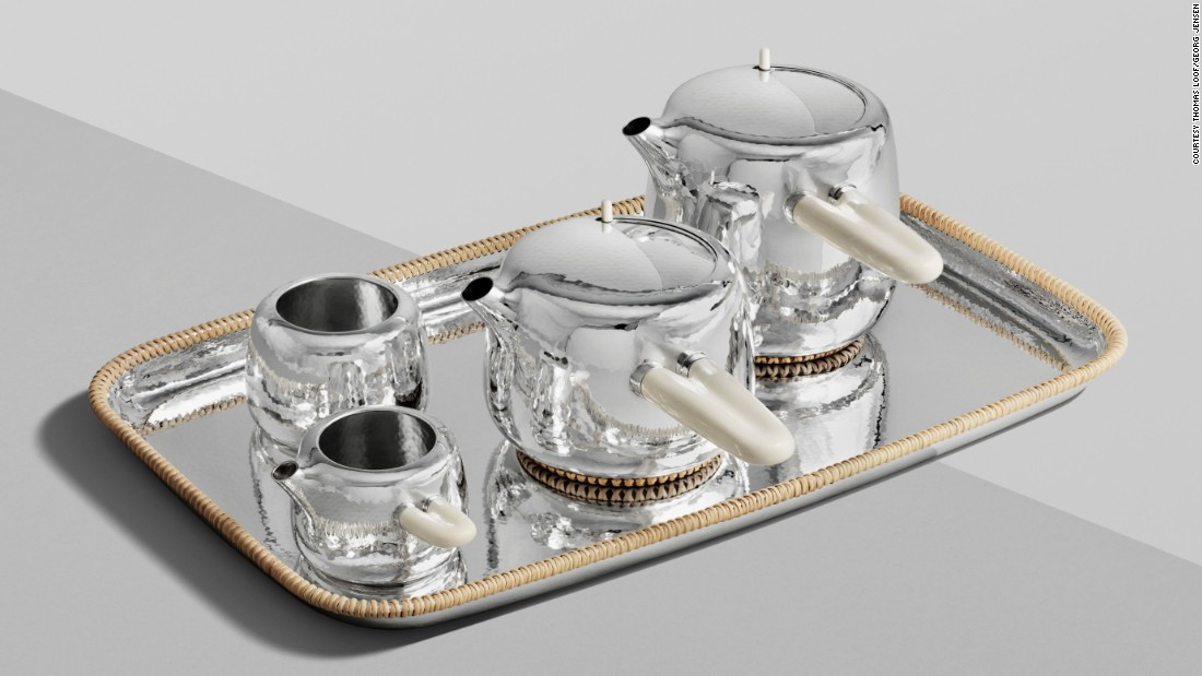 "There's a good reason Marc Newson's <a href=""http://www.georgjensen.com/global/campaigns/marc-newson"" target=""_blank"">sterling silver tea service</a> comes limited to an edition of ten -- the handles are made from mammoth-ivory. The rare commodity is responsibly sourced of course, but ivory is only one luxurious facet of the Australian designer's creation. Each item in the $125,000 (excl. tax) <a href=""http://www.georgjensen.com/"" target=""_blank"">Georg Jensen</a> set requires three months of hammering by hand (by a ninth generation silversmith, no less), and will be made to order in the 111-year-old Danish company's Copenhagen workshop."