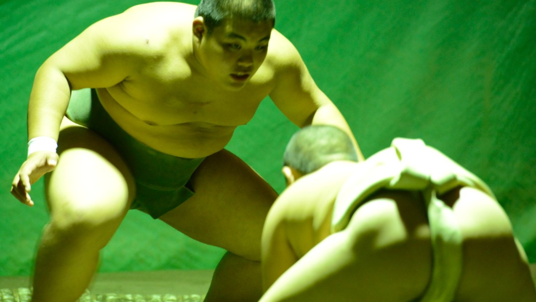 "Ryota, the oldest of the six, says that his friends and classmates aren't surprised that he's chosen this sport, ""because I'm quite big."" Even though the training is grueling and requires a great commitment, he says he's never even thought about quitting. <br />Both he and Watauru want to be rikishi when they're older. Wataru's hero is the former Japanese great Chiyonofuji, who had a career record of 807 victories,  while Ryota prefers the now-retired bad boy Asashoryu. <br /><br />""I like him because he's cool,"" he says. Ryota echoes his stablemate when he pays tribute to the mental aspect of training. ""It's more than just the training of the body,"" he says. ""It's about discipline, respect and becoming a better person.<br />""Also, once when it was snowing, my neighbor asked me to help push his two-ton truck."""