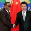 ethiopia china handshake