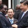 zimbabwe china handshake