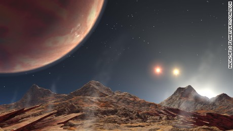 A Jupiter-like planet in the HD 188753 system 149 light-years from Earth has three suns, with the main star similar in mass to our own. The system has been compared to Luke Skywalker's home planet Tatooine in 'Star Wars'.