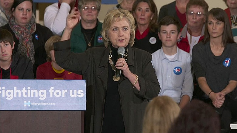 Hillary Clinton defends gun control push