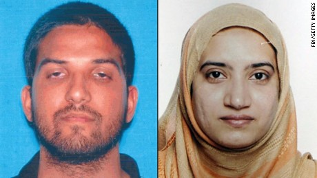FBI director: Terror couple sent private jihad messages