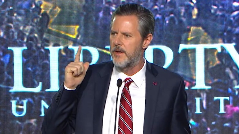 Liberty University president Jerry Falwell Jr. guns_00000000