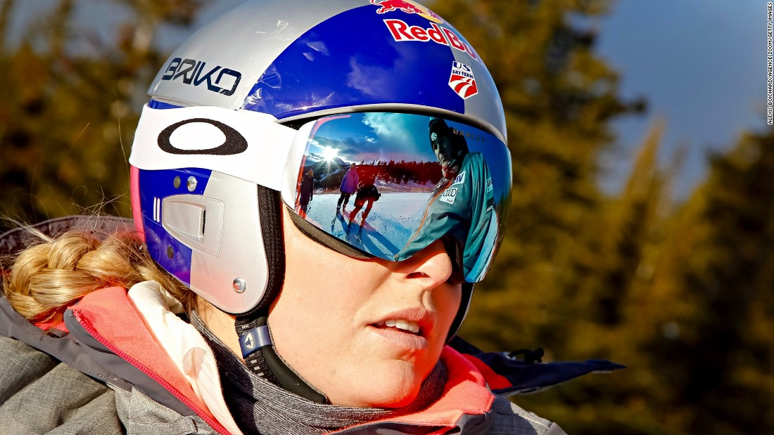 "Vonn told reporters: ""Just because I'm older, doesn't mean I've lost any desire to continue to win."""