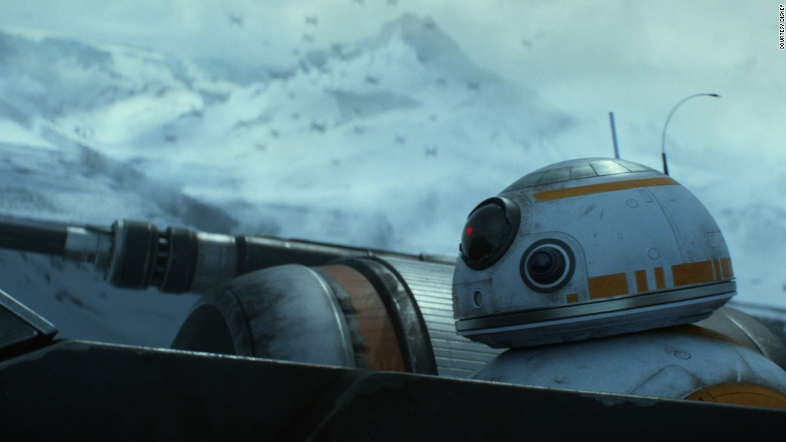 Little is known about the plot of the movie, and Denton and Lee remain tight-lipped, despite being present on set from the first week to the last. From the information scraped together before the film's release on December 18, we know that the droid has an allegiance to Resistance pilot Poe Dameron, played by Oscar Isaac. What Denton and Lee would disclose was that viewers should look out for how the droid enters Dameron's X-Wing -- apparently a spectacle in itself.