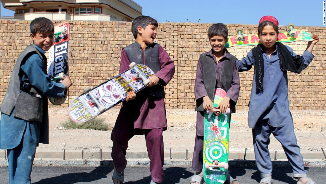 The charity works with boys too, especially those working on the streets. It reaches 400 children a week from its purpose-built skate parks in Kabul and Mazar-i-Sharif.