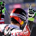 marcel hirscher arms up