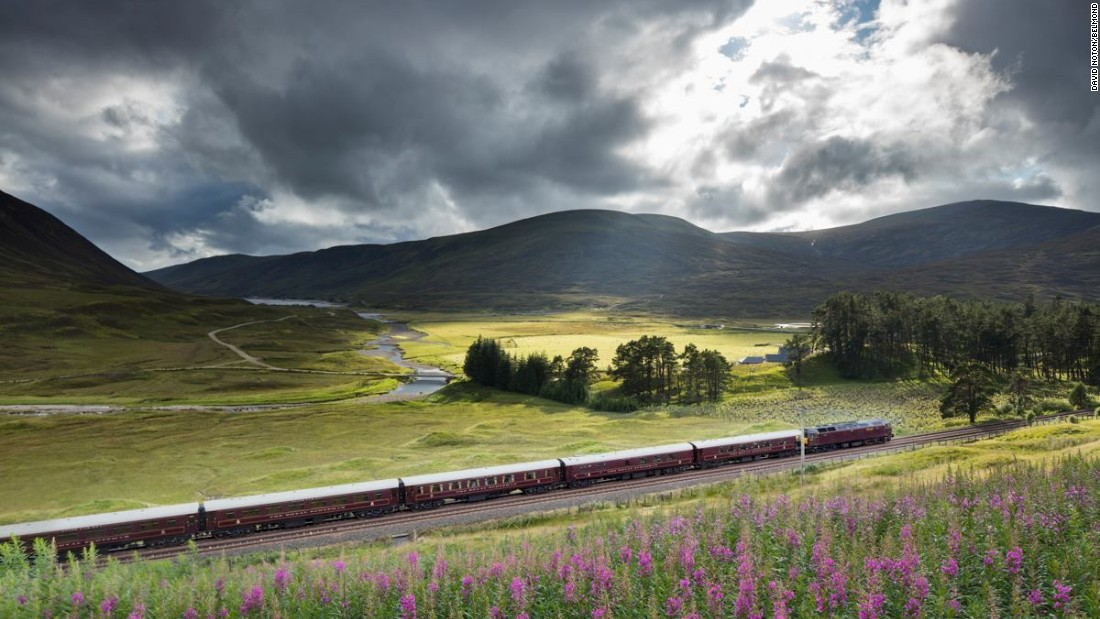 Belmond's Royal Scotsman offers several round trips from Edinburgh lasting between two and seven days, but the classic voyage is the four-night passage to the Scottish Highlands. It includes visits to distilleries and castles.