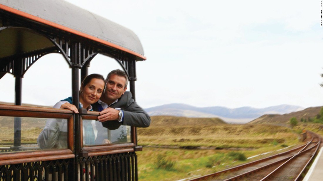 The UK's only luxury sleeper train, the Royal Scotsman hosts a maximum of 36 guests per journey.