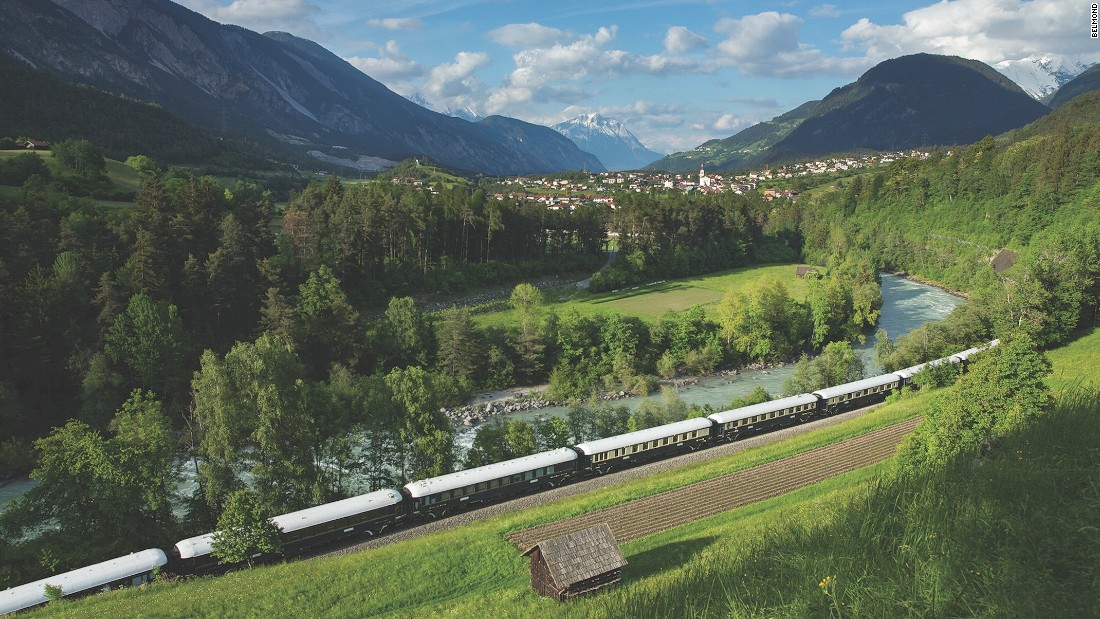 Though the voyage only lasts a single night, the Venice Simplon-Orient-Express London to Venice trip takes in some of Europe's most captivating scenery.