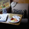 luxury blue train suite