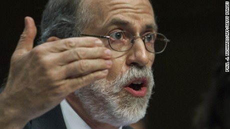 Frank Gaffney testifies at the U.S. Senate Judiciary Committeein 2013.