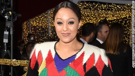 LOS ANGELES, CA - NOVEMBER 18:  Tia Mowry arrives at the premiere for Columbia Pictures' 'The Night Before' at The Theatre at The Ace Hotel on November 18, 2015 in Los Angeles, California.  (Photo by Jason Merritt/Getty Images)