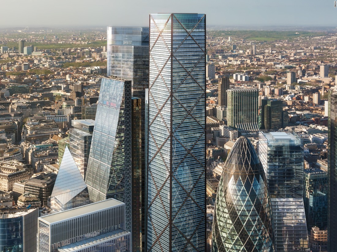 In December 2015, plans were unveiled for 1 Undershaft -- a 300 meter (984 feet) tall building that could become the City of London's tallest skyscraper.