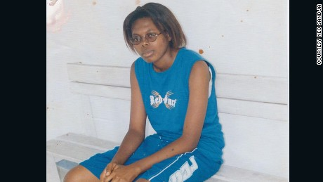 In 2002, Neo Sandja was on the basketball team at the Congo American Language Institute in Kinshasa.