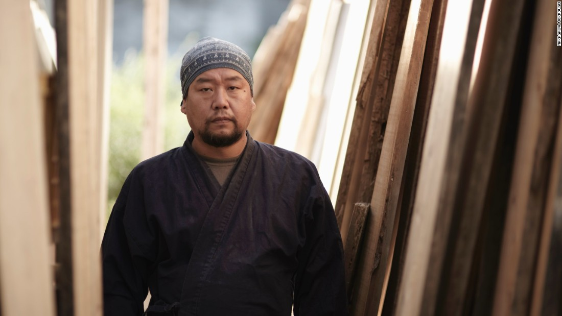 "Shuji Nakagawa is a third-generation craftsman and carpenter for Nakagawa Mokkougei, a Kyoto ""oke"" maker founded by his grandfather, Kameichi Nakagawa."