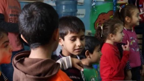 Report: Syrian child refugees have mental health risk