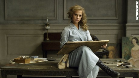 "Alicia Vikander was nominated for BAFTA and Golden Globe awards for her ""Danish Girl"" performance."
