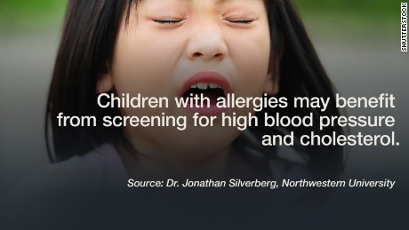 The results are in: Children with allergies have higher blood pressure