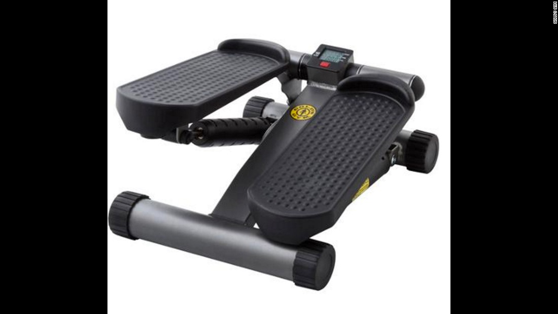 "The <a href=""http://www.amazon.com/Golds-Gym-40-0041GG-Mini-Stepper/dp/B00IGIRTZ2"" target=""_blank"">Gold's Gym mini stepper</a> gives you the feel of having a moderate workout, according to one user. The stair stepper is not all that different from marching in place."