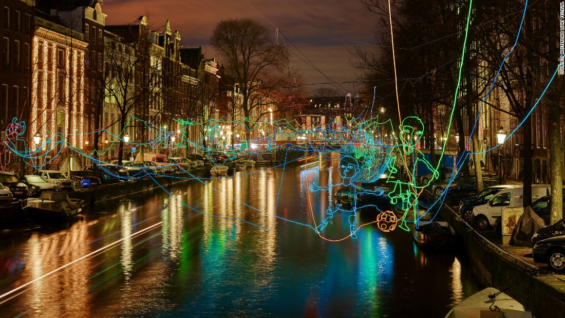 Amsterdam Light Festival is an annual light and arts festival.