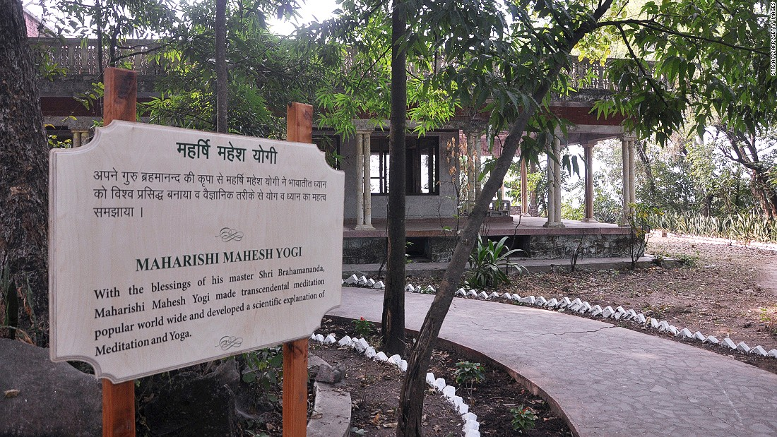 The revamp included cleaning up the floors and walls and repaving the paths in the complex. Here is the bungalow where The Beatles and their friends attended spiritual sessions with the self-styled guru Maharishi Mahesh Yogi.