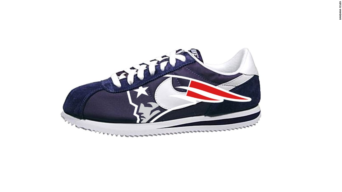"<a href=""http://bandanafever.com/"" target=""_blank"">Bandana Fever</a> sells customized kicks for sports fans who want to walk the extra mile for team spirit. The fashion conscious can find Converse canvas sneakers emblazoned with the Chicago Bears logo or New England Patriots-themed Nike running shoes on the site. And don't forget the <a href=""http://www.bandanafever.com/nike-elite-socks-ohio-state-buckeyes-digi-camo-by-bandana-fever/"" target=""_blank"">matching socks</a>."