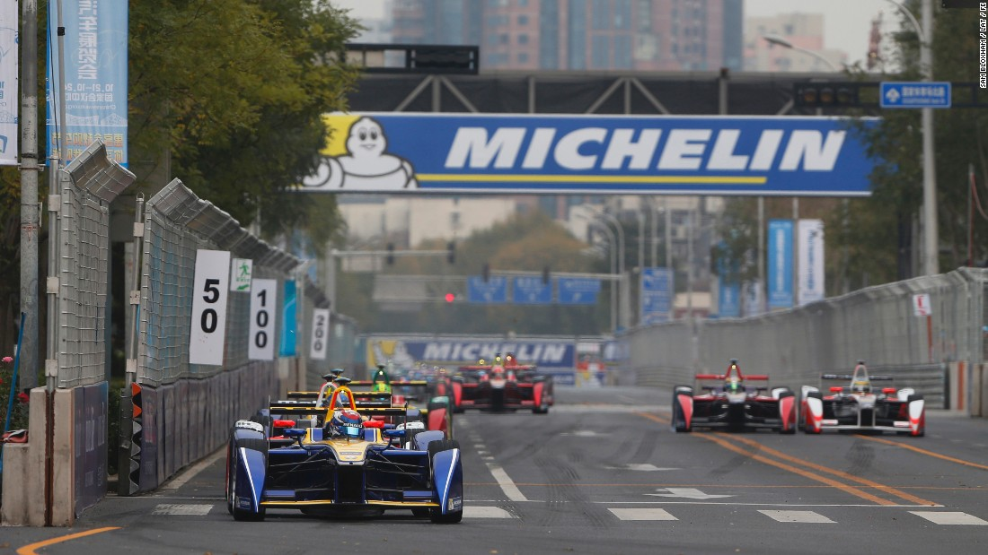 Most races are held in city centers. The opening round of this year's championship took place in Beijing (pictured) with races scheduled to take place in Moscow, Berlin and London later in the year.