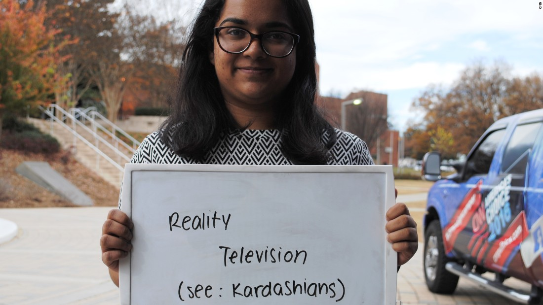 """Sanjana is an International Affairs major from Georgia Tech. She describes the elections as being similar to a reality show such as """"Keeping Up with the Kardashians."""""""