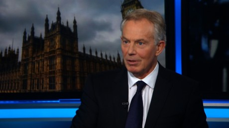 Tony Blair on ISIS fight, UK politics, Trump