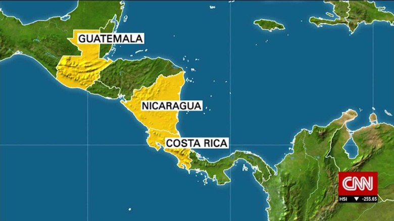 5,000 Cuban migrants stranded in Costa Rica
