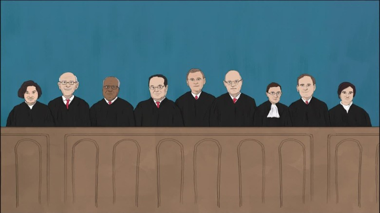 Supreme Court Justices caught on open mic
