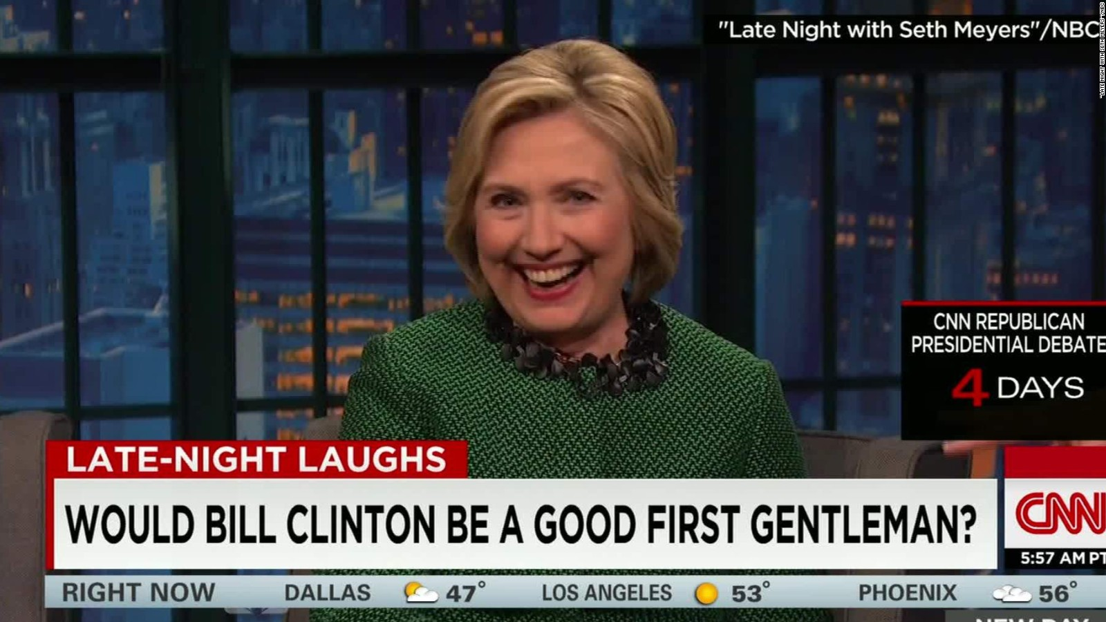 Hillary Clinton: Bill would be great First Dude - CNN Video
