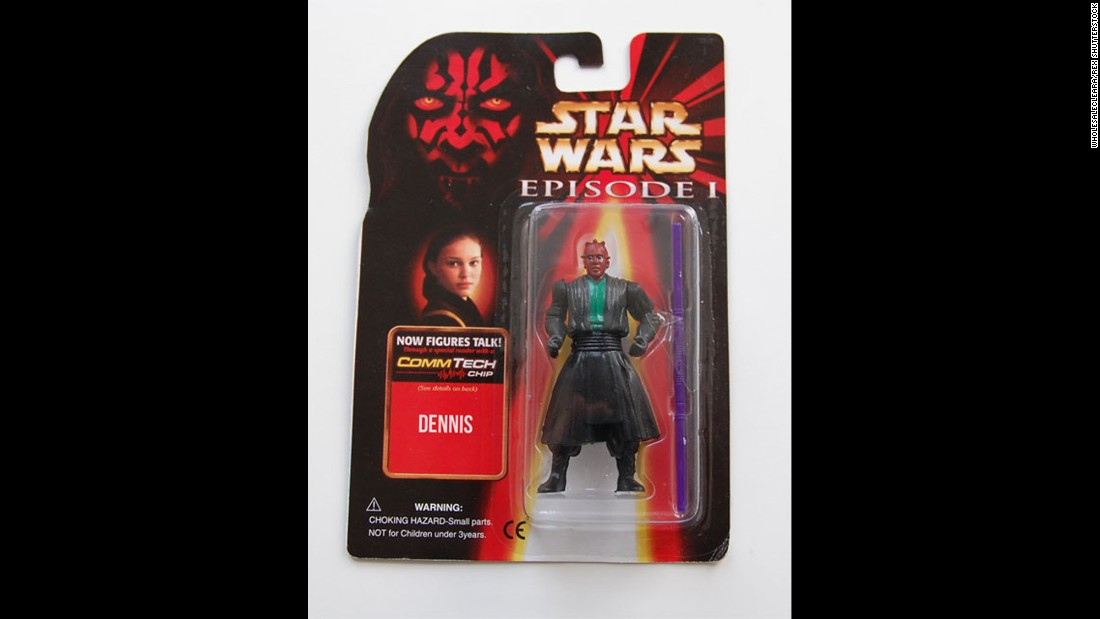 "Perhaps you've heard of Darth Maul's brother, ""Dennis."""
