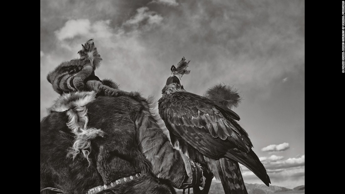 "Upon arrival, he became aware of the culture and story of the eagle hunters. ""I just wanted to photograph these guys. But soon after I got there I realized there was a bigger story there that needed to be told."""