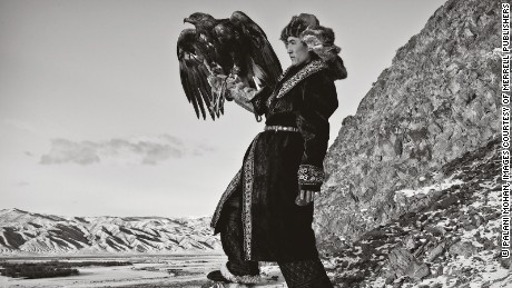 Capturing the art of the last eagle hunters of Mongolia