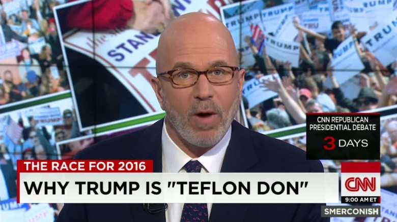"Smerconish: Why Trump is ""Teflon Don"""