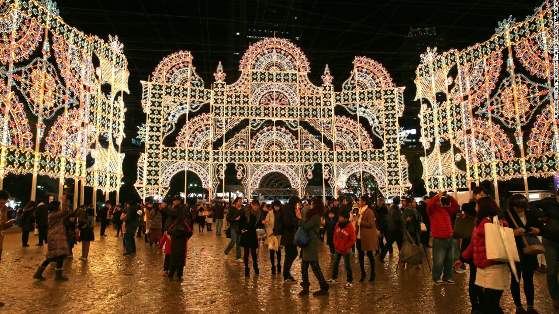 Kobe Luminarie is an annual lighting festival held in Kobe, Japan.