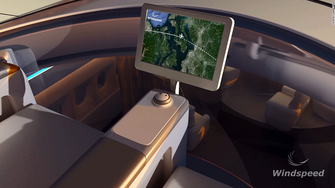 Once in the seats, passengers can use controls to rotate themselves through 360 degrees, potentially giving them better views than the pilot.