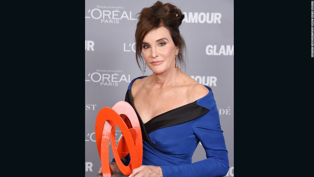 """Caitlyn Jenner has brought public awareness to transitioning -- much similar to the way I've done in this country,"" says Maloney of the American reality TV star and retired Olympic decathlon champion.<br />""But I don't think you could compare her transition to others ... how many people have a makeup artist working for them full-time or a wardrobe full of designer clothes? <br />""She comes from reality TV, it's a completely different world, and very far from other people's reality.""<br />Here, Jenner poses at the 2015 Glamour Women Of The Year Awards, where she was named ""Transgender Champion.""<br />"