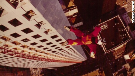 BASE jumping, '70s style